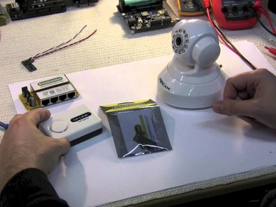 SuperHouseTV #9: Cheap Power-over-Ethernet for IP cameras