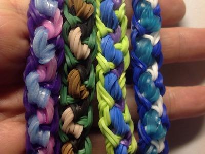 Swoosh Bracelet Tutorial - Rainbow Loom