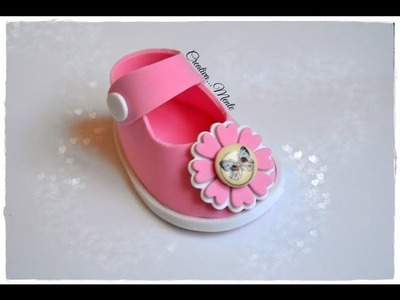 Tutorial scarpetta portaconfetti bimbo.tutorial shoes for children