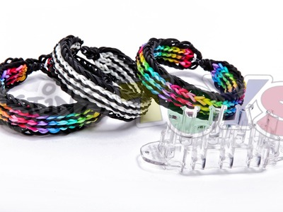 Twin Stripe Bracelet on NEW Rainbow Loom - MONSTER TAIL® Preview