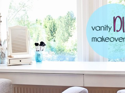 Vanity makeover I Easy DIY & Decoration ideas