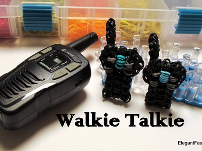 Walkie Talkie Radio Charm - How to Rainbow Loom