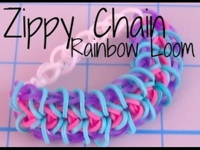 Zippy Chain Rainbow Loom Bracelet