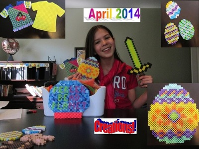 April 2014 Perler Bead Creations