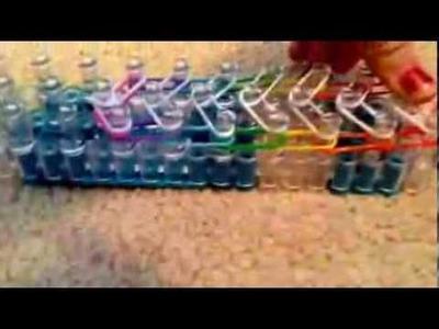 Brand New Rainbow Loom Tic-Tac-Toe Bracelet