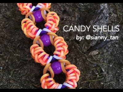 CANDY SHELLS Hook Only bracelet tutorial