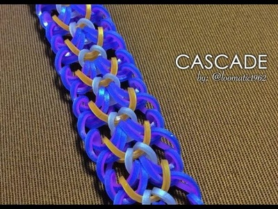 CASCADE Hook Only bracelet tutorial