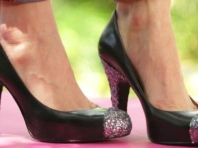 Chic Pair of Heels: DIY Dress Up    KIN DIY