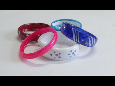 DIY - BRACELETS RECYCLING PLASTIC BOTTLES