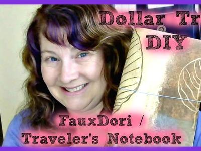 Dollar Tree DIY Fauxdori Travelers Notebook Planner