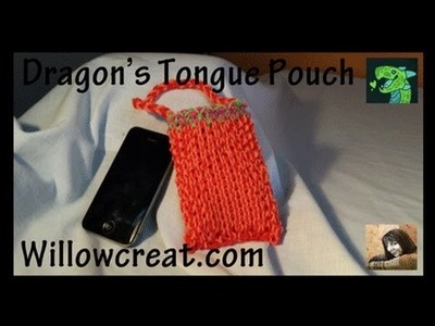 Dragon's Tongue Pouch- Iphone Sleeve ** ADVANCED