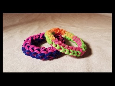 Fusion Bracelet -  Double Cappedon 2 Forks - Rainbowloom