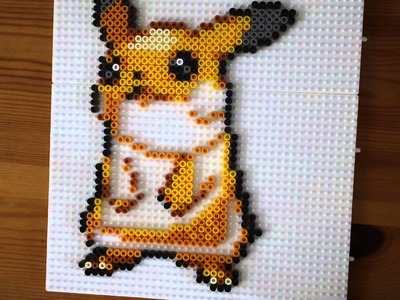 Pikachu Perler Bead Tutorial