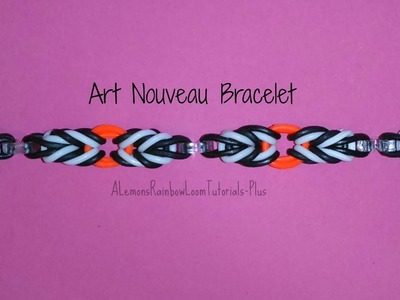 Rainbow Loom - Art Nouveau Bracelet | How To