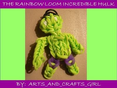 Rainbow Loom Incredible Hulk