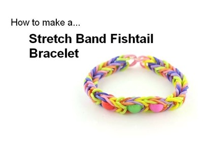 Stretch Band Fishtail Bracelet, using the EZ Looper