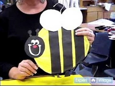 Easy Arts & Crafts Projects for Kids : Preparing to Make a Bumble Bee: Arts & Crafts for Kids