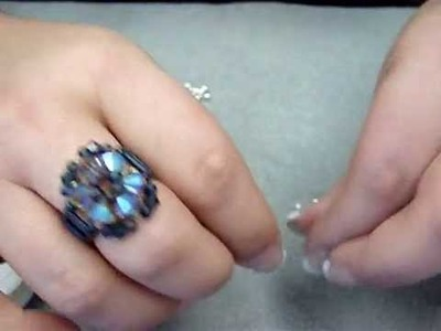 How to Make a Beaded Elastic Ring