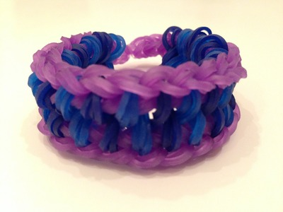 How To Make The Triple 8 Rainbow Loom Bracelet