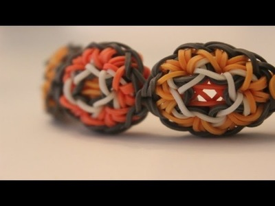*NEW* ONE LOOM Hexapop Bracelet on the Rainbow Loom