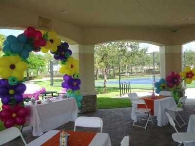 1 Birthday Pavilion decoration. DreamARK Events  * www.dreamarkevents.com *