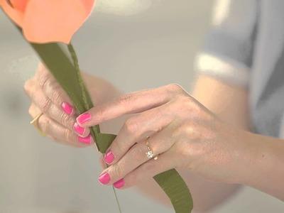 A Paper Tulip in 5 Steps