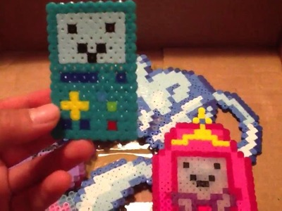 Adventure Time Perler Bead Sprites Collection