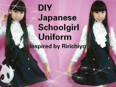 Cosplay DIY: Kawaii Japanese School Uniform Inspired by Ririchiyo