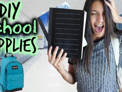 DIY Back to School Supplies 2015