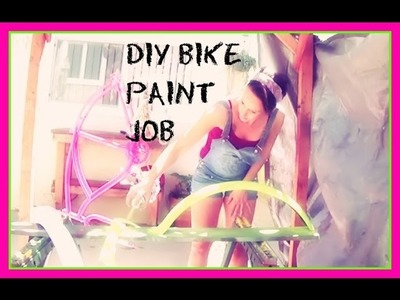 DIY Bike Paint Job
