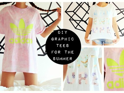 DIY GRAPHIC TEES FOR THE SUMMER | pacifically