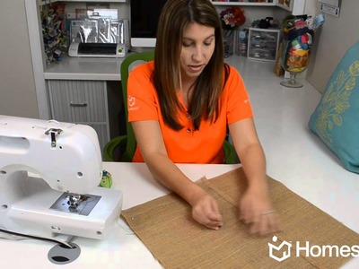 Homes.com DIY Experts Share How-to Create a Custom Pillow Cover