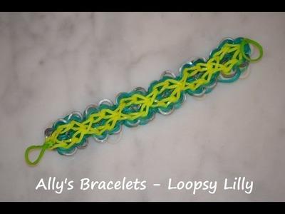 Loopsy Lilly Rainbow Loom Bracelet