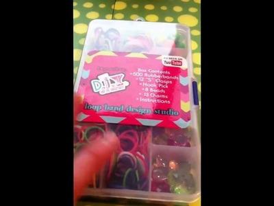 Mini rubber band haul