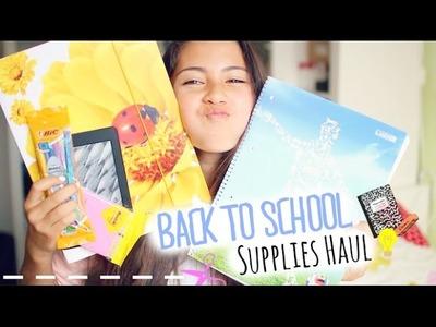 My Back to School Supplies Haul