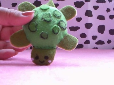 PELUCHE TORTUGUITA KAWAII. HOW TO MAKE TURTLE PLUSH