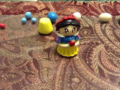 Polymer clay: Snow White chibi tutorial