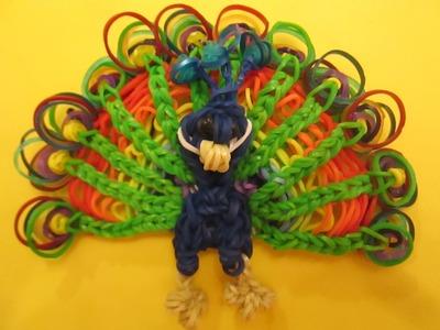 Rainbow Loom Baby Peacock Charm.