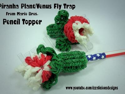 Rainbow Loom Piranha.Venus Fly Trap Plant Pencil Topper.Charm - Gomitas