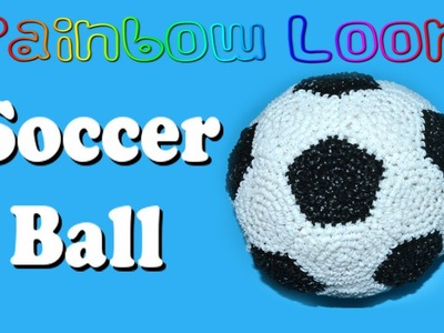 Rainbow Loom Soccer Ball - Part 1 of 2