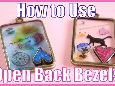 [UV Resin] Open Back Bezel Tutorial