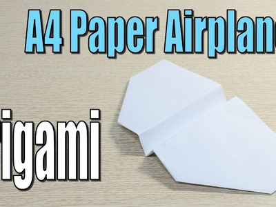 A4 paper airplane Origami