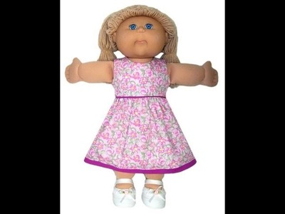 Cabbage Patch Kids Doll Clothes Patterns Summer Dress