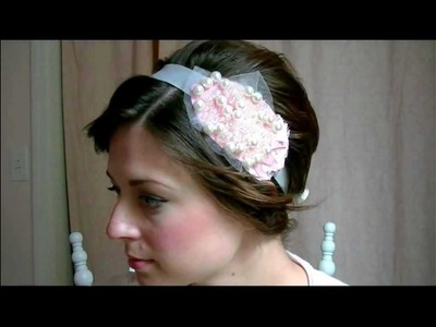 Chic on the Cheap: Make Vintage Hair Jewelry