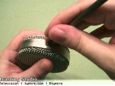 DIY Netcasting Studio - Part 4:  Big Microphone Autopsy with Sound Samples