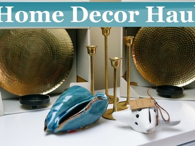 Fabulous Finds Friday - 1st Ever Home Decor Haul- Interior Design Ideas