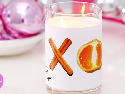 Holiday Citrus and Spice Candle - DIY Style - Martha Stewart