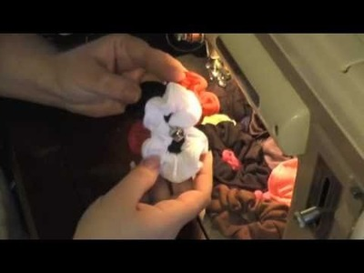 How to make a bow using scrunchies!  Birthday, Christmas, Holiday,