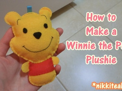 How to Make a Winnie the Pooh Plushie