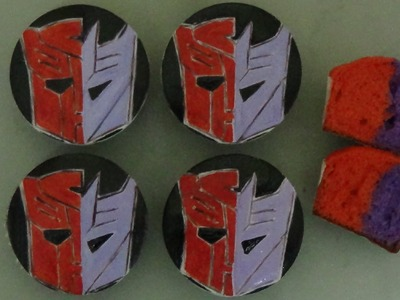 How to make transformers cupcakes